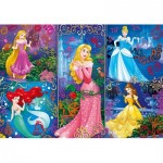 Puzzle  Clementoni-20609 3D Effect - Disney Princess