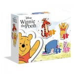 Clementoni-20820 My First Puzzle - Winnie The Pooh (4 Puzzles)