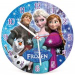 Clementoni-23021 Clock Puzzle - The Snow Queen