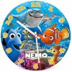 Clementoni-23022 Puzzle Clock - Nemo and Dory