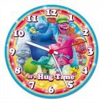 Clementoni-23028 Clock Puzzle - Trolls
