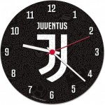 Clementoni-23037 Puzzle Clock - Juventus (Batteries not included)