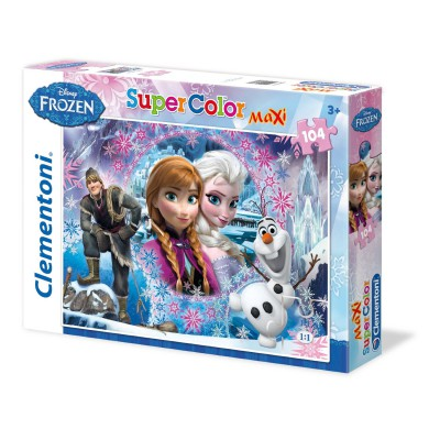 Puzzle Clementoni-23662 XXL Pieces - Queen of Ice and Snow