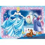 Clementoni-23671 XXL Jigsaw Puzzle - Cinderella
