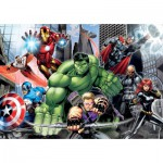 Clementoni-23688 XXL Jigsaw Puzzle - Avengers