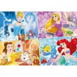 Puzzle  Clementoni-23703 XXL Pieces - Disney Princess
