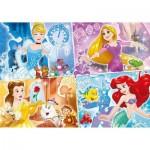 Puzzle  Clementoni-23703 XXL Pieces - Disney Princess