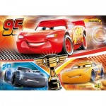 Puzzle  Clementoni-23706 XXL Pieces - Cars 3
