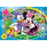 Puzzle  Clementoni-23708 XXL Pieces - Minnie Mouse