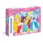 Puzzle  Clementoni-23714 XXL Pieces - Disney Princess