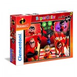 Puzzle  Clementoni-23723 XXL Pieces - The Incredibles 2