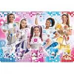 Puzzle  Clementoni-23737 XXL Pieces - Miracle Tunes