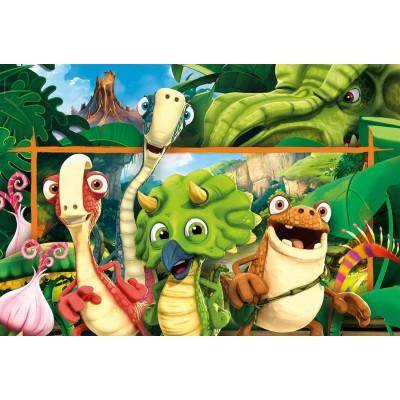 Puzzle Clementoni-23747 XXL Pieces - Gigantosaurus