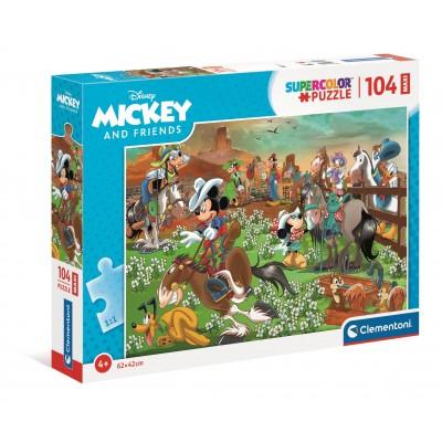 Puzzle Clementoni-23759 XXL Pieces - Mickey