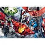 Puzzle  Clementoni-24036 XXL Pieces - Avengers