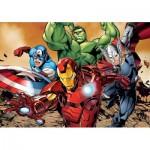 Puzzle  Clementoni-24037 XXL Pieces - Avengers