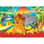 Puzzle  Clementoni-24056 XXL Pieces - The Lion Guard