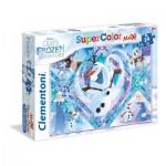 Puzzle  Clementoni-24072 XXL Pieces - Frozen
