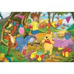 Puzzle  Clementoni-24201 XXL Pieces - Winnie The Pooh