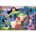 Puzzle  Clementoni-24206 XXL Pieces - Disney Mulan