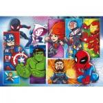 Puzzle  Clementoni-24208 XXL Pieces - Marvel Super Heroes