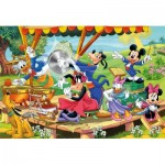 Puzzle  Clementoni-24218 XXL Pieces - Mickey and Friends