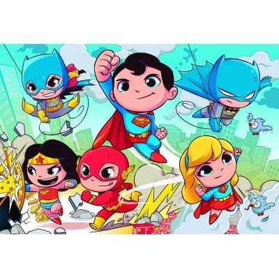 Puzzle Clementoni-24219 XXL Pieces - DC Super Friends