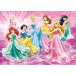 Clementoni-24466 XXL Jigsaw Puzzle - Disney Princess