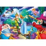 Clementoni-24467 XXL Jigsaw Puzzle - Peter Pan