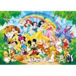 Clementoni-24473 Floor Puzzle - Disney Family