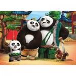 Clementoni-24475 Floor Puzzle - Kung Fu Panda 3