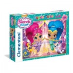 Puzzle  Clementoni-24486 XXL Pieces - Shimmer & Shine