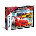 Clementoni-24489 Floor Puzzle - Cars 3