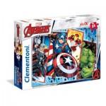 Puzzle  Clementoni-24495 XXL Pieces - Marvel Avengers
