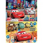 Clementoni-24741 2 Jigsaw Puzzles - Cars