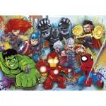 Puzzle  Clementoni-24769 Marvel Superhero - 2x20 + 2x60 Pieces