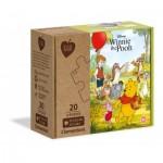 Clementoni-24772 2 Puzzles - Winnie the Pooh