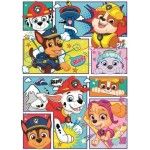 Clementoni-24782 2 Puzzles - Paw Patrol
