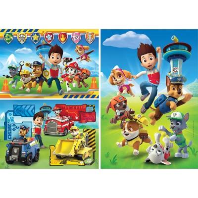 Puzzle Clementoni-25209 Paw Patrol - 3x48 Pieces