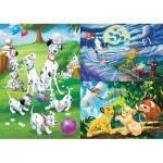 Clementoni-25212 3 Jigsaaw Puzzles - Disney