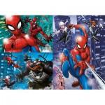 Clementoni-25238 3 Puzzles - Spiderman (3x48)