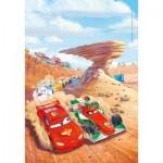 Puzzle  Clementoni-25254 Disney Pixar Cars - 3x48 Pieces