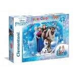 Clementoni-25447 Floor Puzzle - Frozen