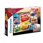Clementoni-25455 Floor Puzzle - Cars