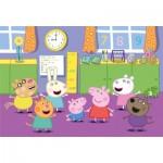 Clementoni-25458 Giant Floor Puzzle - Peppa Pig