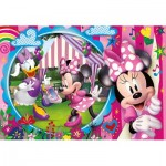 Puzzle  Clementoni-25462 XXL Pieces - Minnie Happy Helpers
