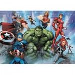 Puzzle  Clementoni-26101 Avengers