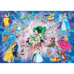 Puzzle  Clementoni-26407 XXL Pieces - Disney