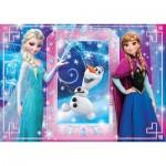Puzzle  Clementoni-26411 XXL Pieces - Frozen