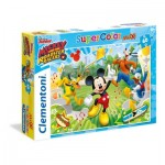 Puzzle  Clementoni-26433 XXL Pieces - Mickey and the Roaster Racers